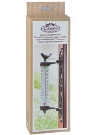 Термометр уличный на окно Птичка BR20 Esschert Design фото