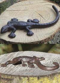 Садовые фигурки ящериц для украшения ландшафта TT157 Esschert Design фото