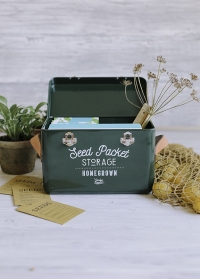 Короб-органайзер для хранения семян Frog Garden Suppliers от Burgon & Ball фото