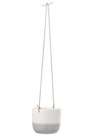 Подвесное керамическое кашпо для цветов Ripple Burgon & Ball фото.jpg
