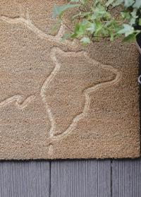Коврик из кокоса для входа Олень RB198 Esschert Design фото