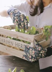 Набор флористических перчаток из хлопка с пупырышками Flower Girl Briers B6960 фото.jpg