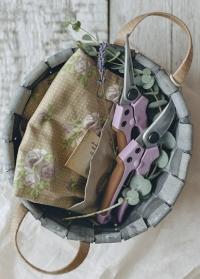 Ножницы для цветов флористические GardenGirl Classic фото.jpg