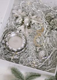 Подсвечник сосновая шишка для чайной свечи - декор в скандинавском стиле от Lene Bjerre фото