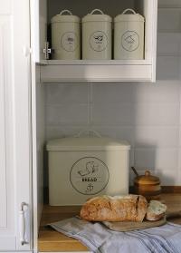 Эмалированная хлебница с крышкой C2103 Esschert Design фото.jpg