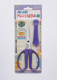 Японские крафт ножницы для рукоделия Florist CRI-360SFV Chikamasa фото.jpg