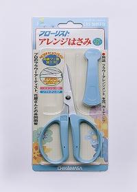 Крафт ножницы для рукоделия Florist CRI-360SFB Chikamasa фото.jpg