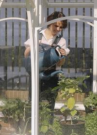 Садовая дизайнерская лейка 12 л Xala Lungo Blue фото