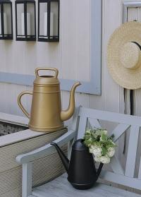Лейка для цветов дизайнерская черная Butler Xala фото