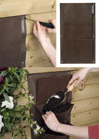 Карманы настенные для растений  Burgon & Ball фото.jpg