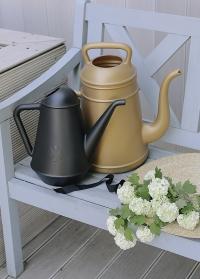 Садовая лейка-кофейник 12 литров для полива цветов Lungo Gold Xala фото.jpg