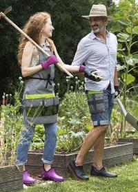 Ботинки резиновые для садоводов и дачников Oregon AJS Blackfox фото.jpg