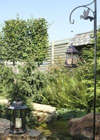 Садовый металлический держатель для кормушек и фонарей от Smart Garden фото