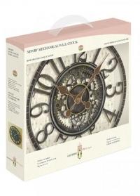Настенные часы уличные скелетоны Newby Verdigris Smart Garden фото