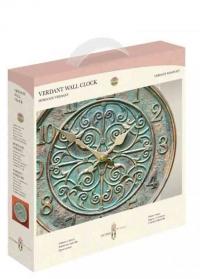 Уличные часы для дачи металлические Verdant by Outside In фото