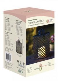 Фонарь подсвечник со светодиодной свечой Cairene Smart Garden фото