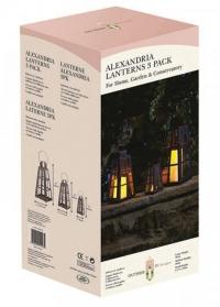Набор металлических подсвечников-фонарей Alexandria by Outside In фото
