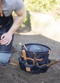 Сумка садовая с карманами для инструментов Denim GT161 Esschert Design фото