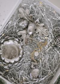 Декор для украшения интерьера желуди на ветке от Lene Bjerre (Дания) фото
