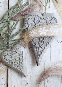Деревянная подвеска сердечко Lene Bjerre картинка