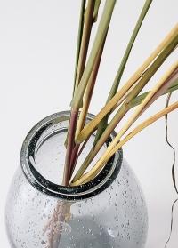 Стеклянная ваза для цветов в интерьер Hedrai от Lene Bjerre фото