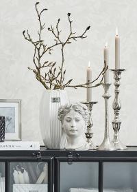 Античная скульптура кашпо для цветов в форме головы Flavia Lene Bjerre фото