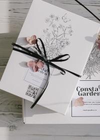 Подарок флористу в красивой упаковке в интернет-магазине Consta Garden фото