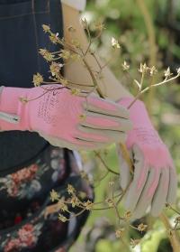Флористические перчатки для работы с растениями AJS Blackfox флористу в подарок фото