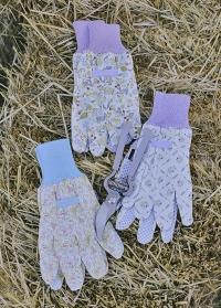 Флористические перчатки из хлопка в подарок флористу Lavender Garden от Consta Garden фото