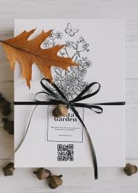 Стильный подарок флористу японские инструменты Chikamasa в подарочной упаковке фото