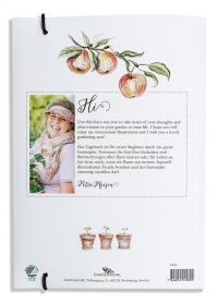 Дневник садовода огородника GardenGirl в подарочной деревянной коробке от Consta Garden фото