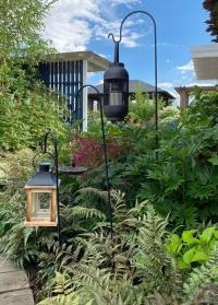 Кронштейн садовый для цветочных подвесных кашпо и фонарей вставляется в грунт Smart Garden фото