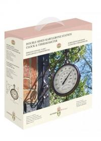 Часы двусторонние станционные York Station Smart Garden фото