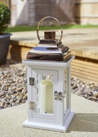 Подсвечник-фонарь декоративный для интерьера Hagan by Outside In от Smart Garden фото