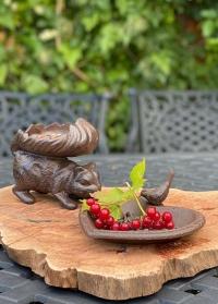 Маленькая садовая кормушка-купальня для птиц Сердце FB362 Esschert Design фото