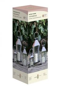 Декоративные подсвечники-фонари Stockholm 5330006 by Outside In Smart Garden фото