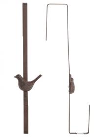 Крючок на дверь для декоративного флористического венка Птичка LH280 Esschert Design фото