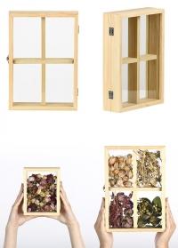 Cтеклянная рамка-короб для сухоцветов ML037 Esschert Design фото