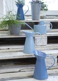 Эмалированный кувшин-ваза для цветов Blue Shades EL100 от Esschert Design фото
