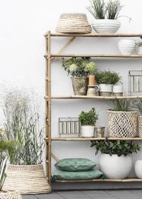 Кашпо для растений под кашемир в скандинавском стиле от Lene Bjerre фото