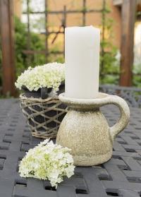 Керамический подсвечник для большой свечи Desielle от Lene Bjerre фото