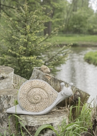 Садовая фигурка - светильник на солнечной батарее Улитка от Smart Garden (Великобритания) фото