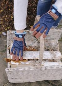 Подарок мужчине для дачи и сада - перчатки садовые Denim от Burgon Ball в интернет-магазине Consta Garden фото