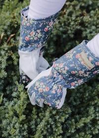 Кожаные садовые перчатки для роз в подарок женщине-садоводу Flower Girl Julie Dodsworth от Consta Garden фото