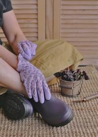 Ботинки женские из эва и неопрена для загородной жизни и дачи Oregon Violet AJS-Blackfox фото