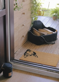 Сумка-дровница Denim FF480 от голландского бренда Esschert Design фото
