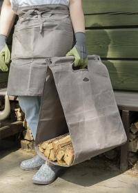Дровница-сумка для переноски и хранения дров Waxed GT204 Esschert Design фото