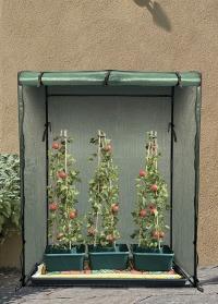 Контейнеры пластиковые с опорами для выращивания томатов Tomato Gro-Box Smart Garden фото