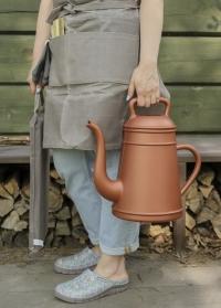 Голландская садовая лейка-кофейник для цветов Lungo Copper Xala фото