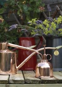 Медный пульверизатор для опрыскивания цветов HAWS Smethwick Spritzer Copper фото